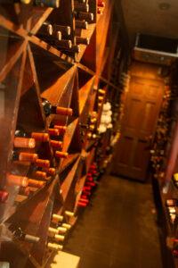 Cadwalladers wine cellar