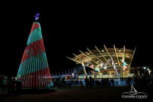 Christmas Tree Lighting at Evans Towne Center Park