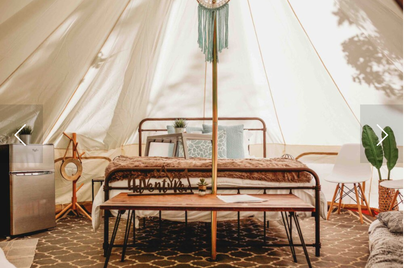 Camping and Glamping Accommodations Near Augusta, GA